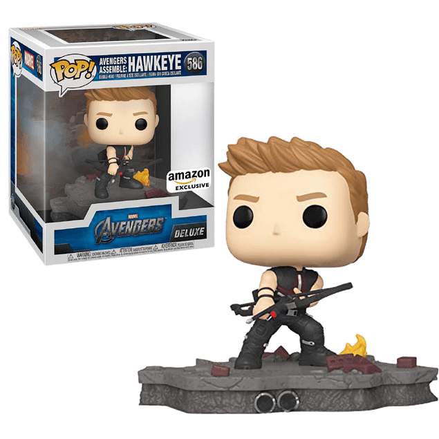 Hawkeye Avengers Assemble Funko Pop Marvel 586 Amazon
