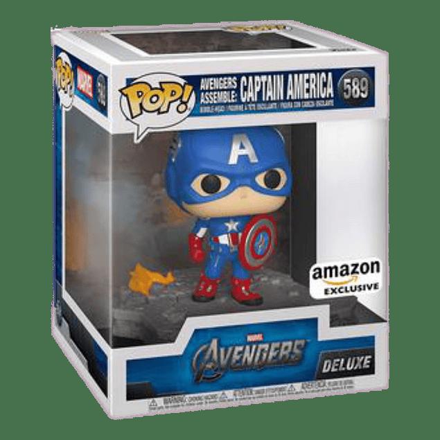 Captain America Avengers Assemble Funko Pop Marvel 589 Amazon