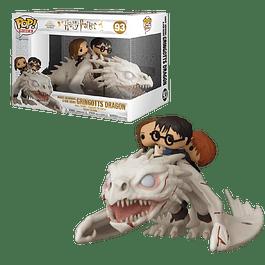 Harry Ron Hermione Riding Gringotts Dragon Funko Pop Rides 93