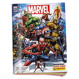 Álbum Panini Marvel 80 Years