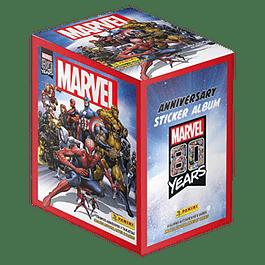 Caja Sobre Panini Marvel 80 Years X50