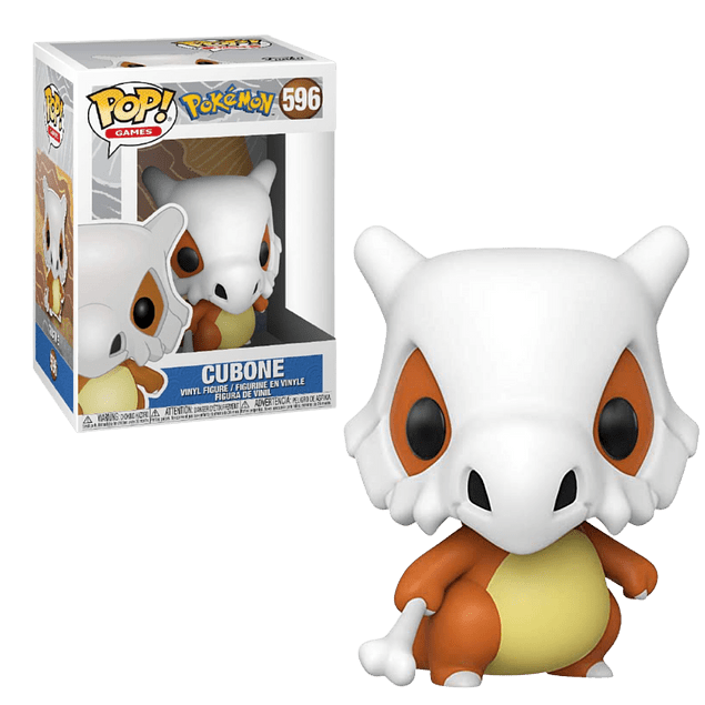 Cubone Funko Pop Pokemon 596
