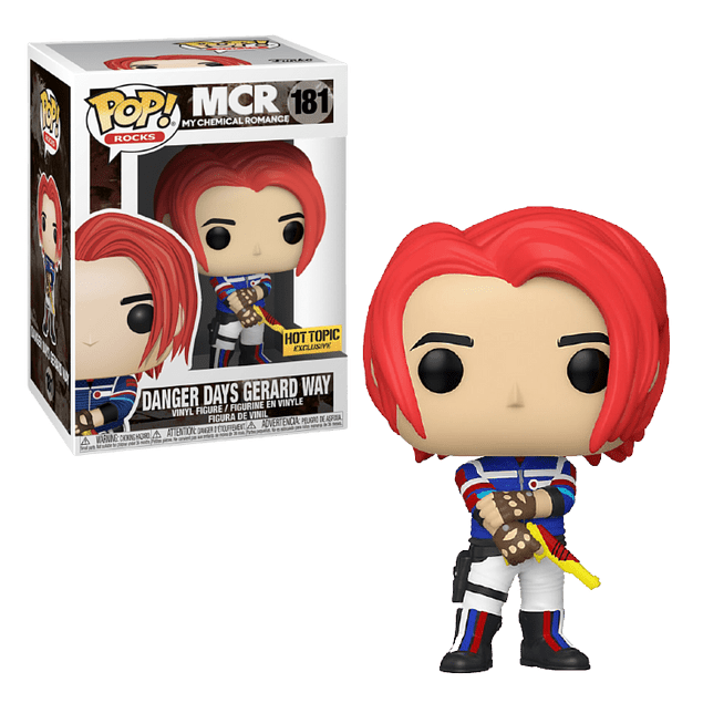 Danger Days Gerard Way Funko Pop My Chemical Romance 181