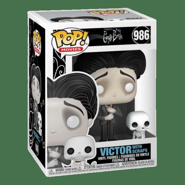 Victor With Scraps Funko Pop Corpse Bride 986