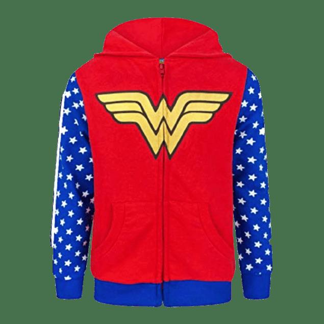 Buzo Cremallera Wonder Woman