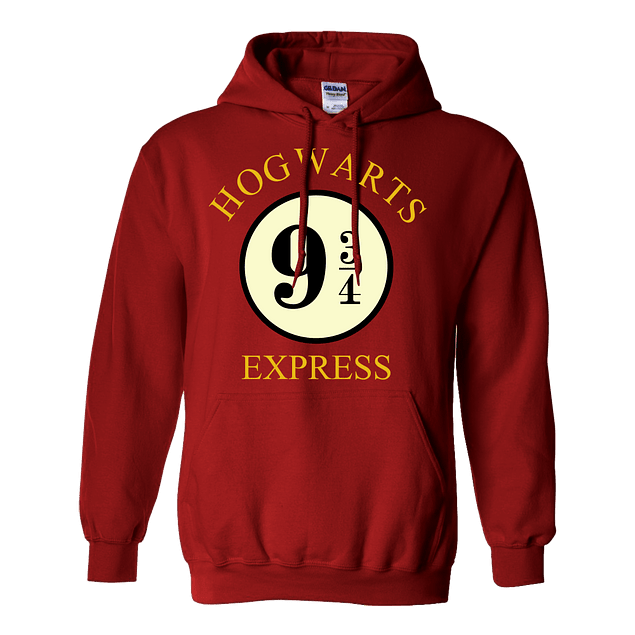 Buzo Harry Potter Hogwarts Express Plataforma 9 3/4