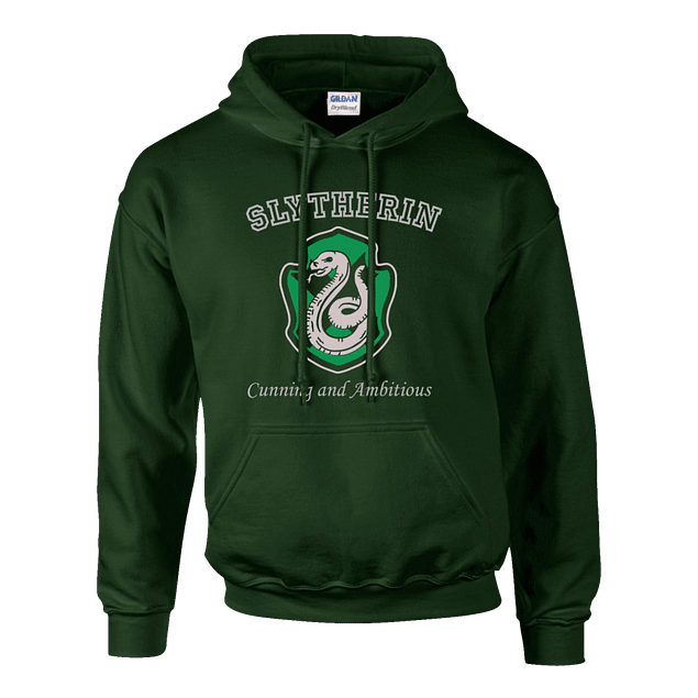Buzo Harry Potter Slytherin Cunning And Ambitious