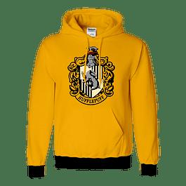 Buzo Harry Potter Hufflepuff Escudo
