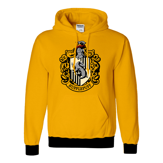 Buzo Harry Potter Hufflepuff Escudo
