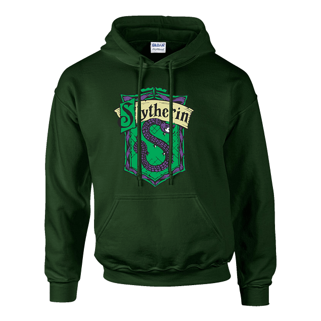 Buzo Harry Potter Slytherin Serpiente