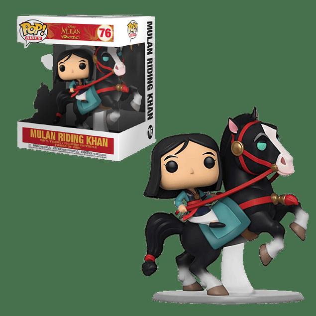 Mulan Riding Khan Funko Pop Mulan 76