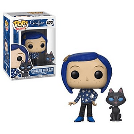 Coraline With Cath Funko Pop Coraline 422