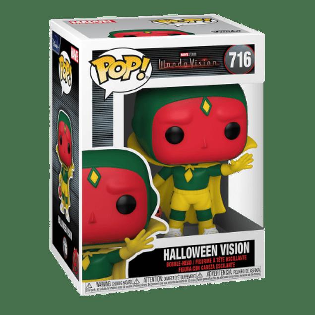 Halloween Vision Funko Pop WandaVision 716