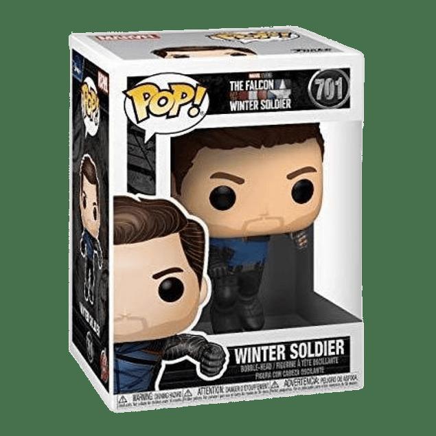 Winter Soldier Funko Pop The Falcon And The Winter Soldier 701