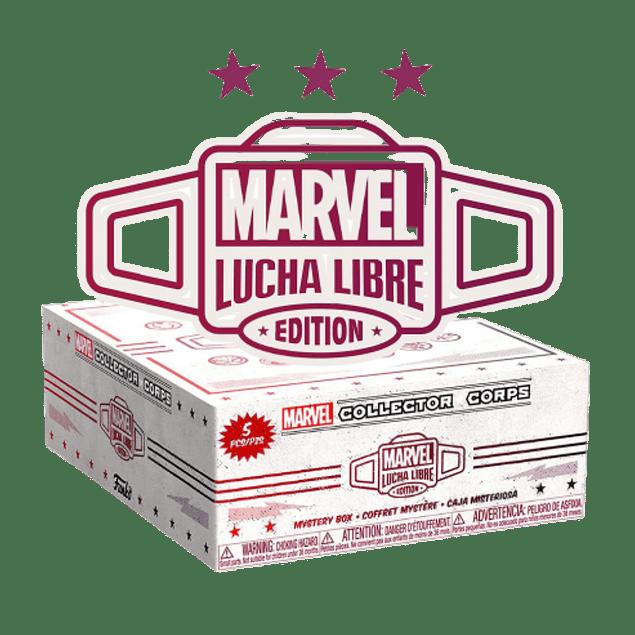 Funko Collector Corps Marvel Lucha Libre Edition