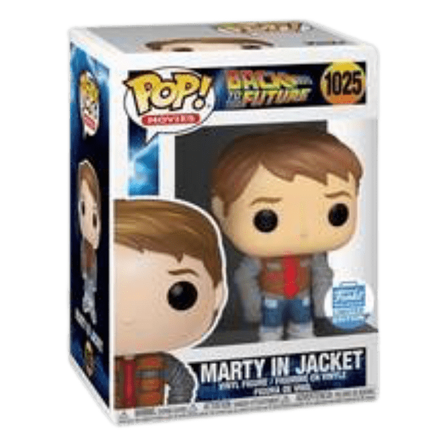 Marty in Jacket Funko Pop Back To The Future 1025