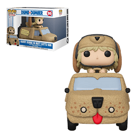 Harry Dunne In Mutt Cutts Van Funko Pop Rides Dumb And Dumber 96