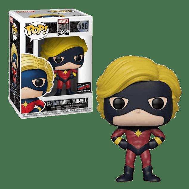Captain Marvel Mar-Vell Funko Pop Marvel 526 NYCC2019