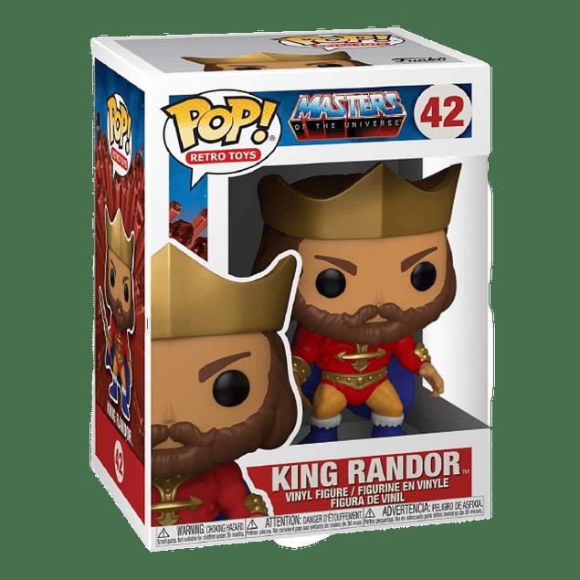 King Randor Funko Pop Masters Of The Universe 42