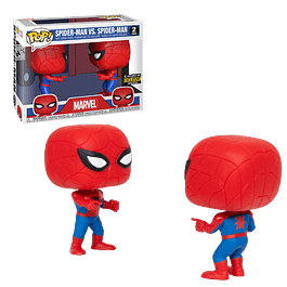 Spiderman Imposter Funko Pop Marvel 2 Pack EE