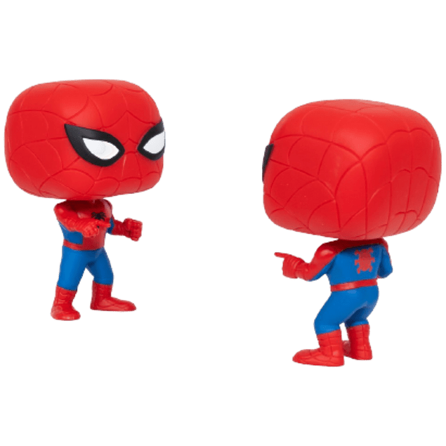 Spiderman Imposter Funko Pop Marvel 2 Pack EE
