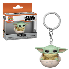 The Child In Pod Llavero Funko Pop The Mandalorian