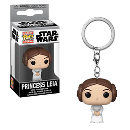 Princess Leia Llavero Funko Pop Star Wars