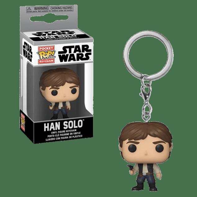 Han Solo Llavero Funko Pop Star Wars
