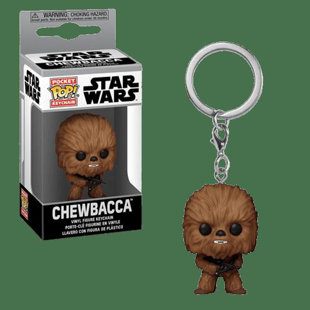 Chewbacca Llavero Funko Pop Star Wars