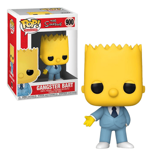 Gangster Bart Funko Pop The Simpsons 900