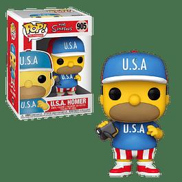 USA Homer Funko Pop The Simpsons 905