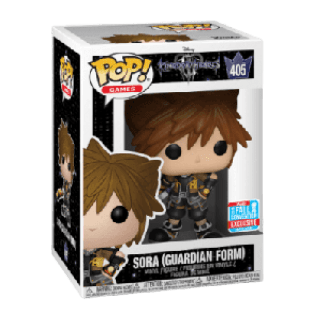 Sora Guardian Form Funko Pop Kingdom Hearts 405 NYCC 2018
