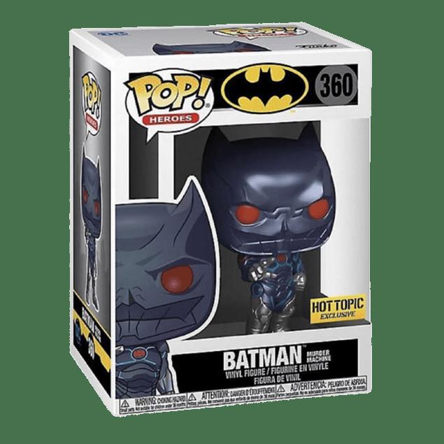 Batman Murder Machine Funko Pop 360 Hot Topic