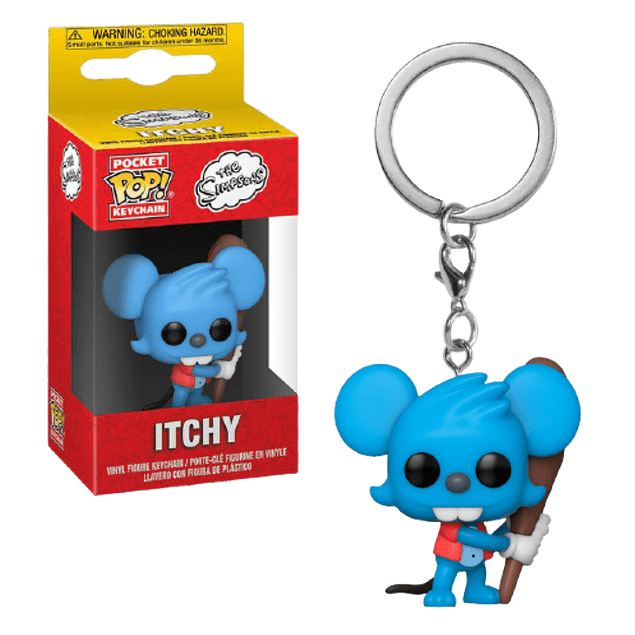 Itchy Llavero Funko Pop The Simpsons