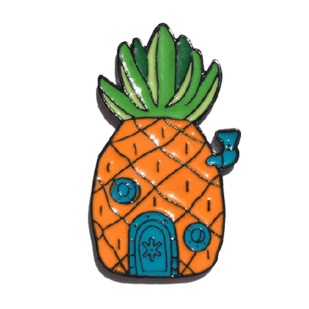 Pin Casa Piña Bob Esponja
