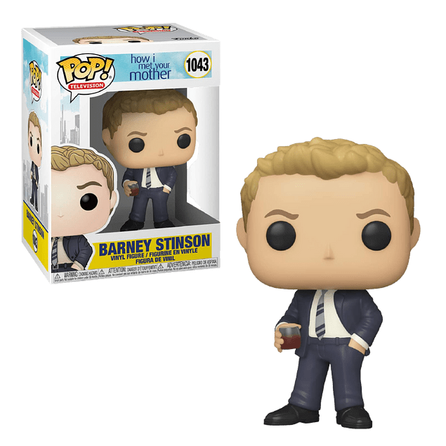 Barney Stinson Funko Pop How I Met Your Mother 1043