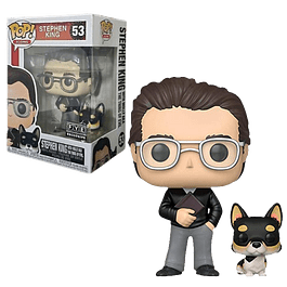 Stephen King With Molly Funko Pop Icons 53 FYE