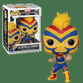 La Estrella Cosmica Funko Pop Marvel Lucha Libre Edition 710