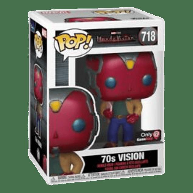 70s Vision Funko Pop WandaVision 718 GameStop