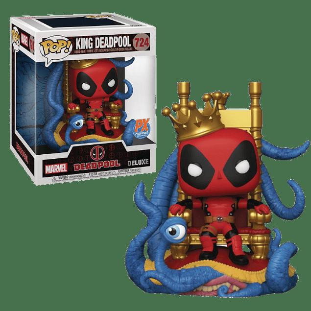 King Deadpool Funko Pop Marvel PX 724