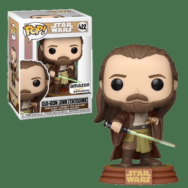 Qui-Gon Jinn Tatooine Funko Pop Star Wars 422 Amazon