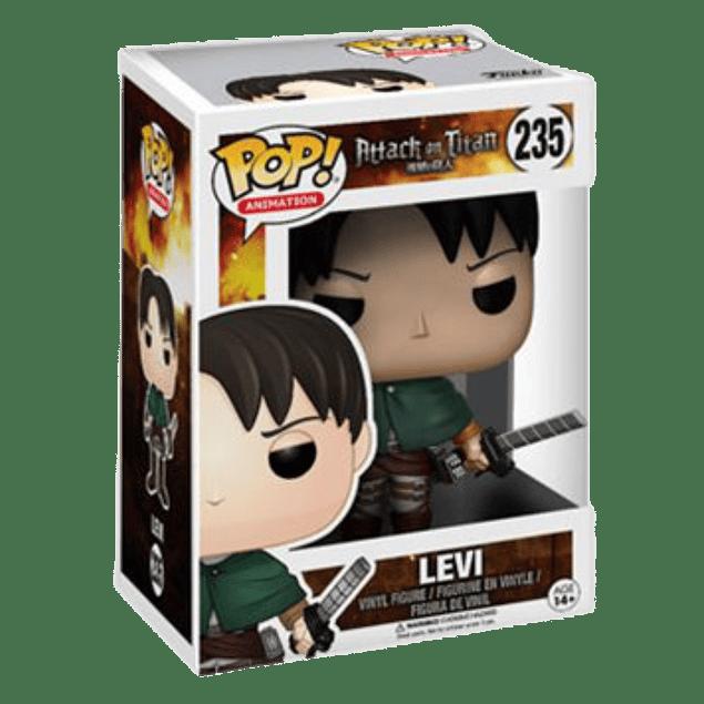 Levi Funko Pop Attack On Titan 235