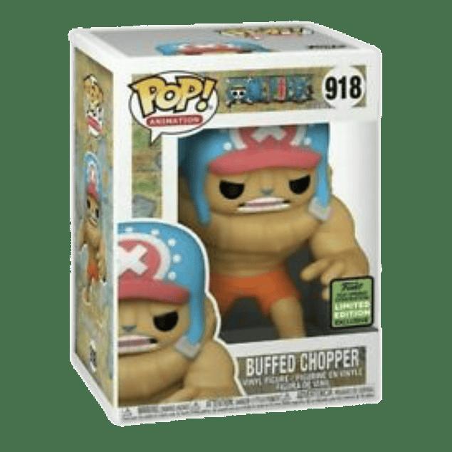 Buffed Chopper Funko Pop One Piece 918 ECCC 2021