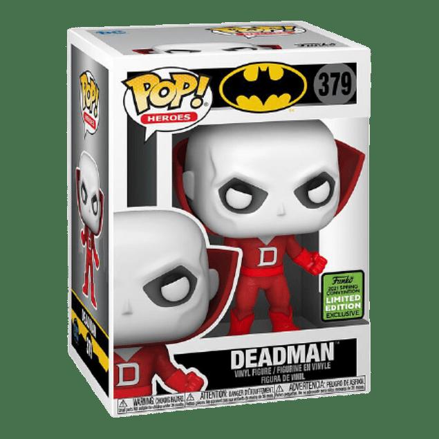 Deadman Funko Pop Batman 379 ECCC 2021