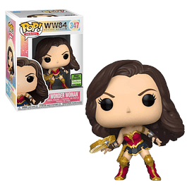 Wonder Woman Funko Pop WW84 347 ECCC 2021