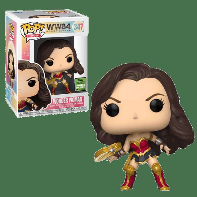 Wonder Woman Funko Pop WW84 347 ECCC 2021