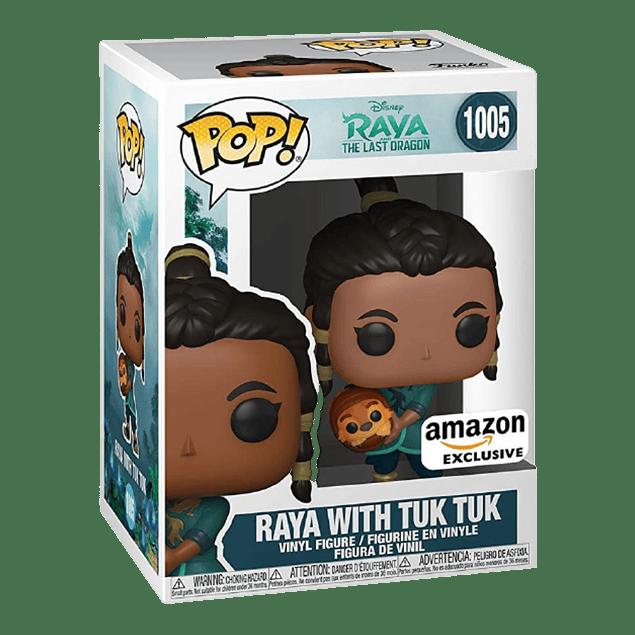 Raya With Tuk Tuk Funko Pop Raya And The Last Dragon 1005 Amazon