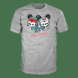 Camiseta Funko Pop Mickey Y Minnie Gamers