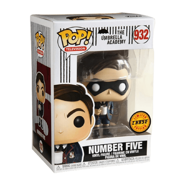 Number Five Funko Pop The Umbrella Academy 932 Chase