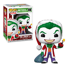 The Joker As Santa Funko Pop DC 358